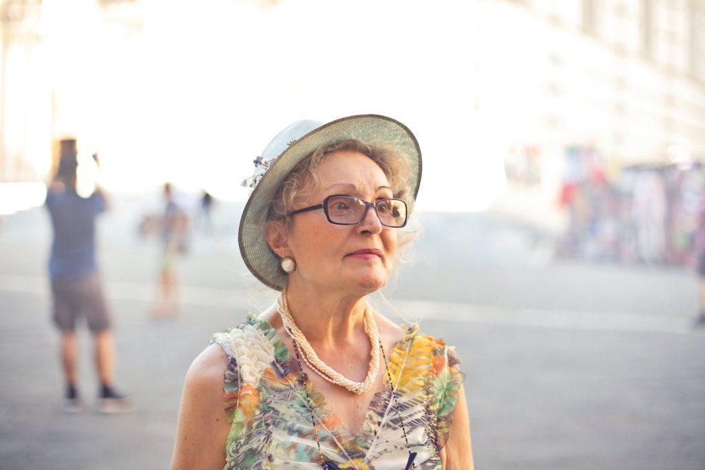 Women with hat pexels