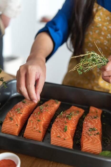 Foods with omega-3 fatty acids
